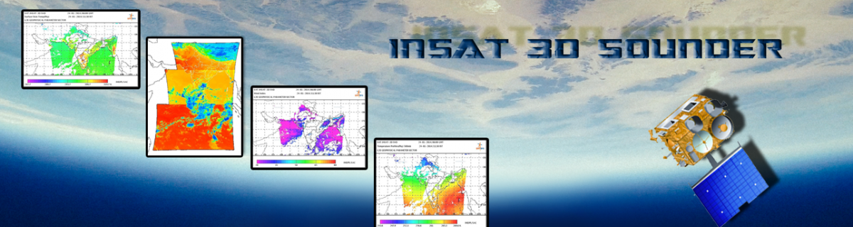 INSAT-3D Sounder Gallery